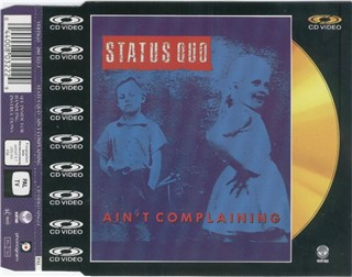 Video-CD-Single 'Ain't complaining'