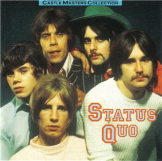 CD-Cover of the german Status Quo compilation 'Castle Masters Collection'