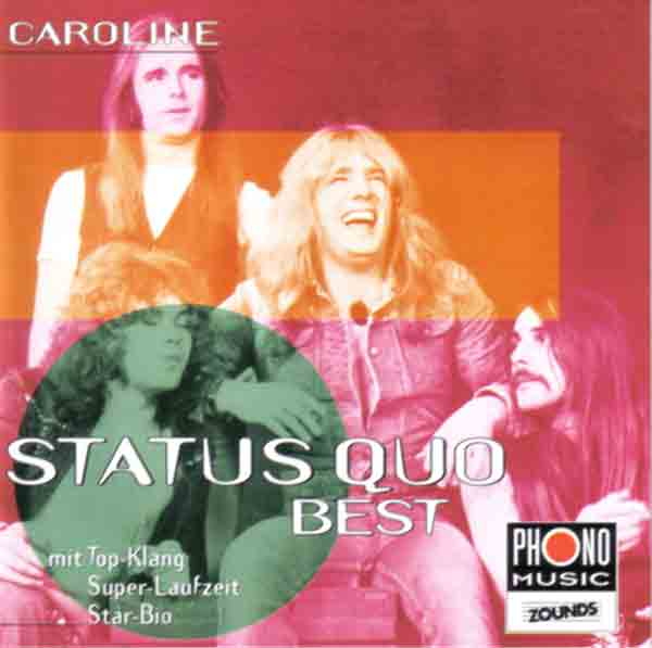 Cover of the german compilation 'Caroline - Best'