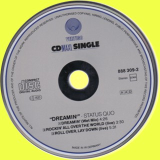 Cover of the Maxi-CD 'Dreamin'