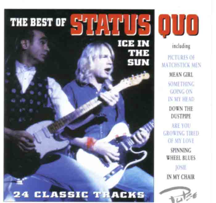 Cover des Samplers 'Ice in the Sun - The best of Status Quo'