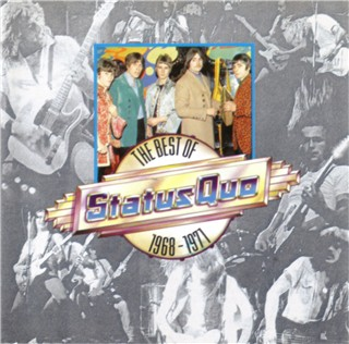 CD-Cover of the Status Quo compilation 'STATUS QUO - The Best of 1968-1971' PWK4080