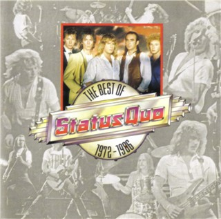 CD-Cover of the Status Quo compilation 'STATUS QUO - The Best of 1972-1986' PWK4080