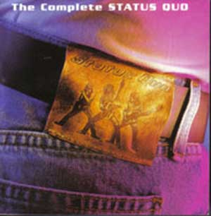 Frontcover 4x-CD-Box 'The Complete Status Quo' von Readers Digest
