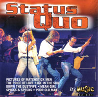 Cover of the german sampler 'Status Quo' from Delta Music