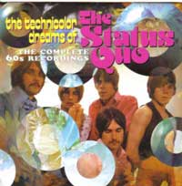 Cover der 2xCD 'Technicolor Dreams of the Status Quo'