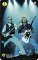 Status Quo phone card which was released in UK in 1997