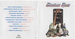 Coverof the US-Compilation 'Status Quo'