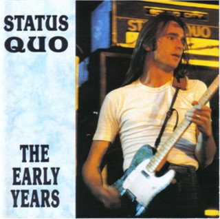 CD-Cover of the Status Quo compilation 'The early years' DOJO EARL D 8