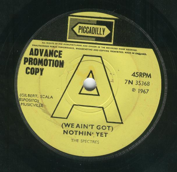 Traffic Jam Single 'We aint nothing yet' - UK-promo